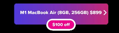 M1 MacBook Air for $899 sale button