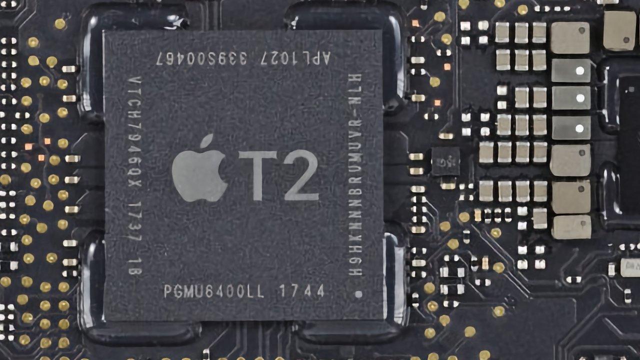 Apple's current T2 security processor