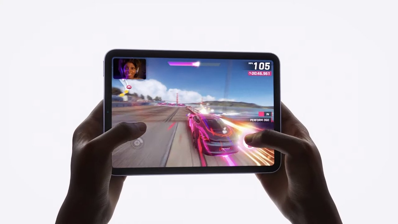 An 80% faster GPU means much better gaming on the iPad mini 6