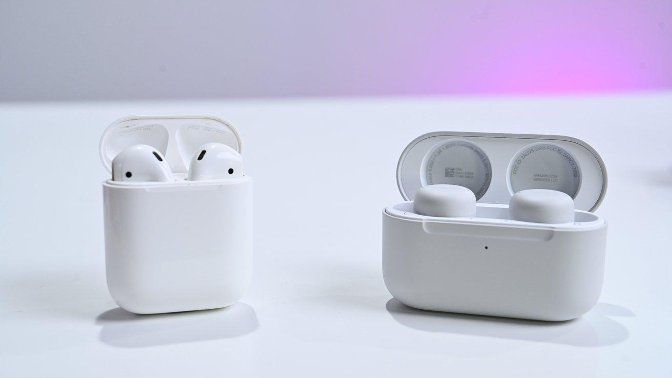 Apple AirPods versus Echo Buds second-generation