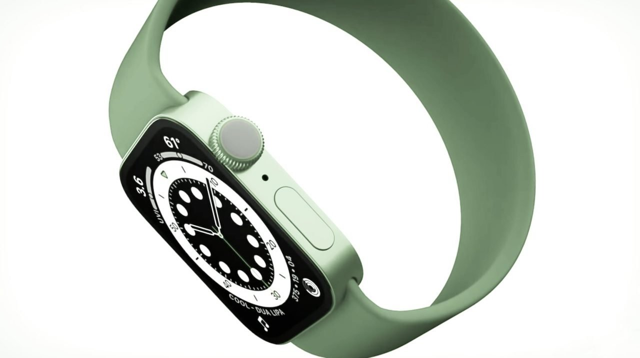photo of Rumor: 'Apple Watch Series 7' to feature flat edges, green color option image