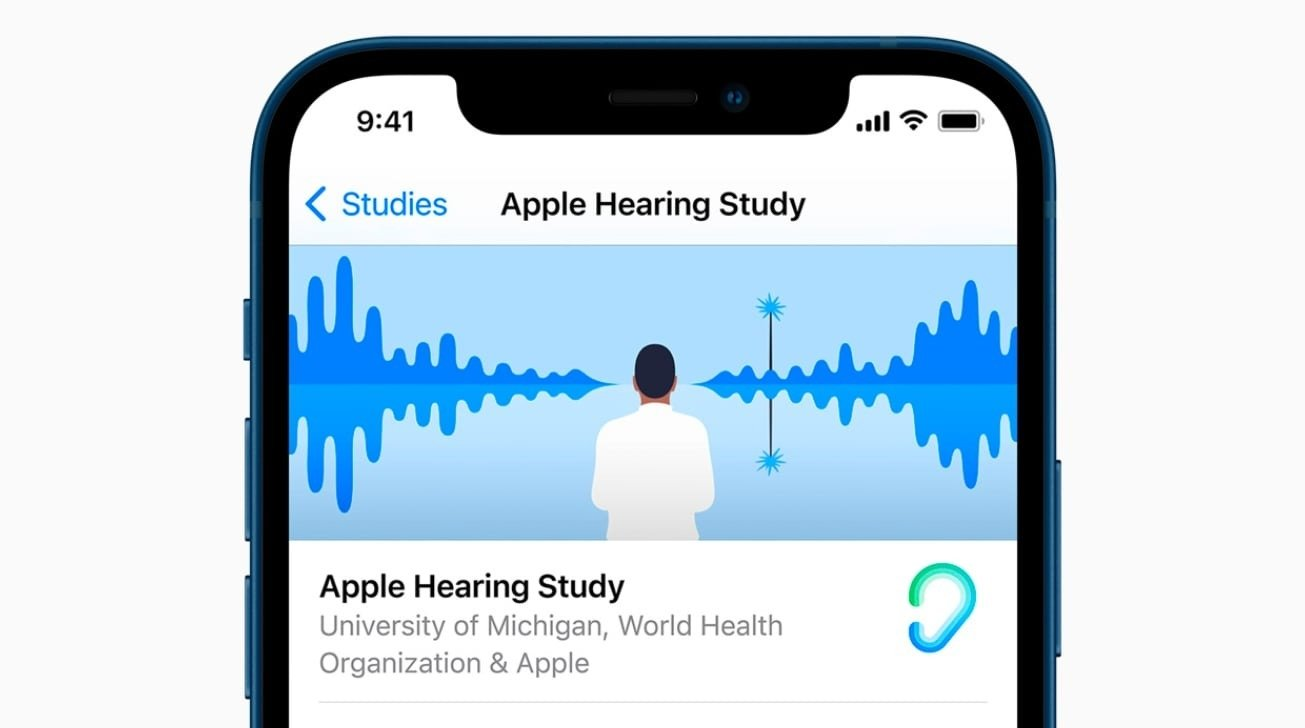 Apple Research hearing study