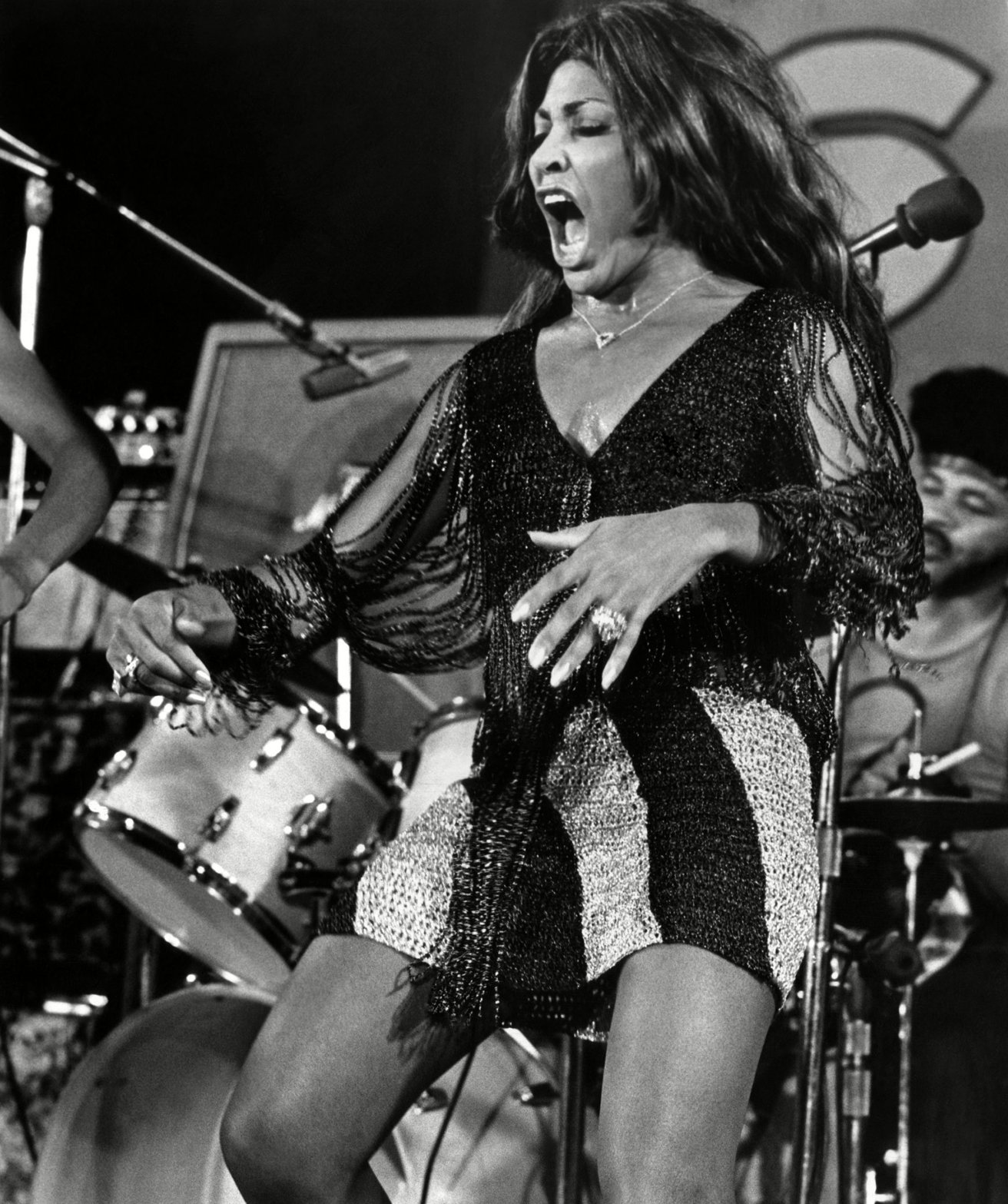 Tina Turner is featured in