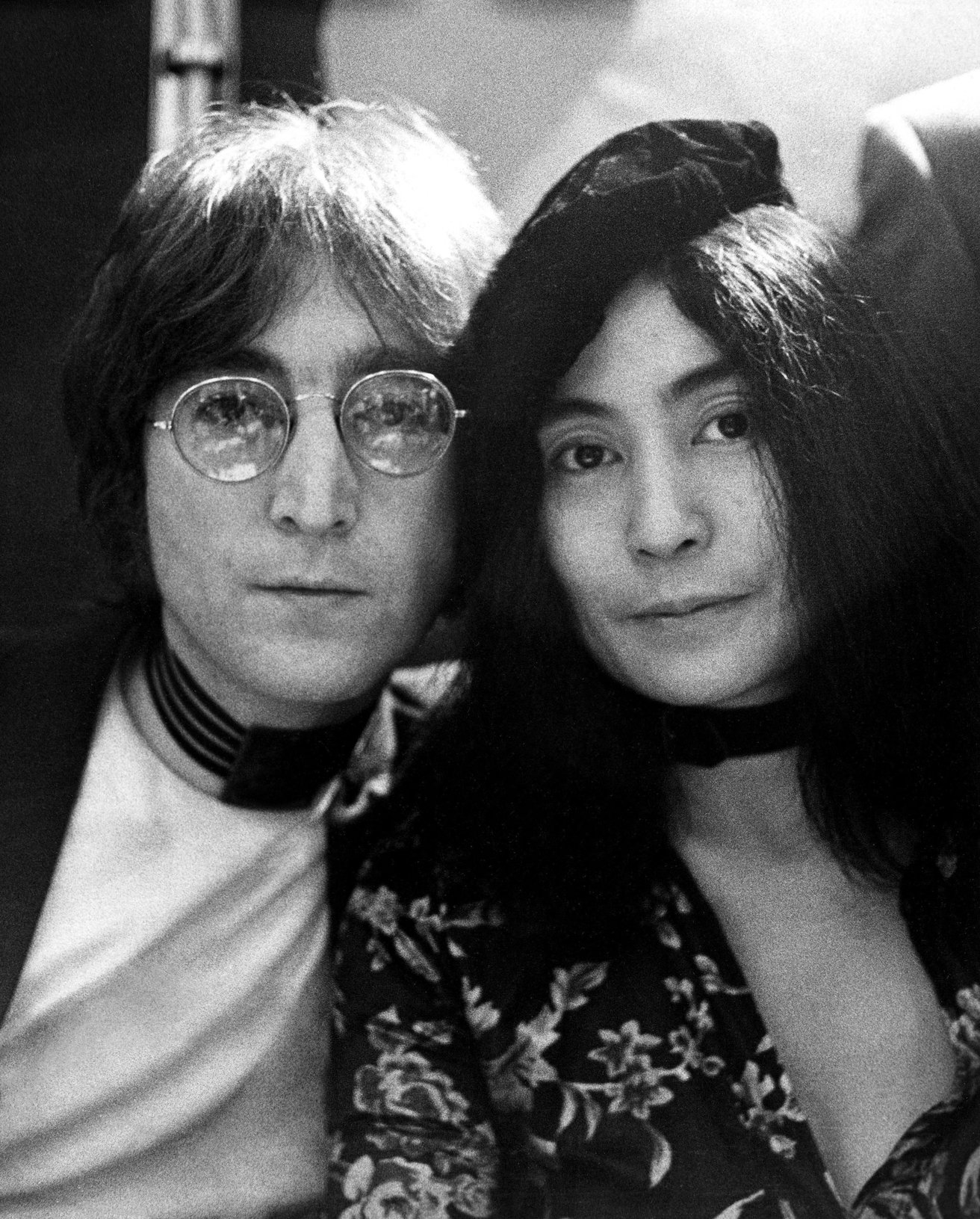 John Lennon and Yoko Ono are featured in
