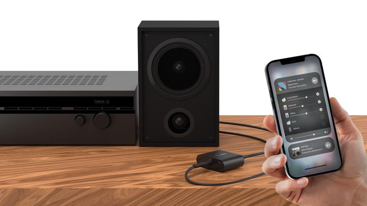 Belkin Soundform Connect brings AirPlay to legacy speakers
