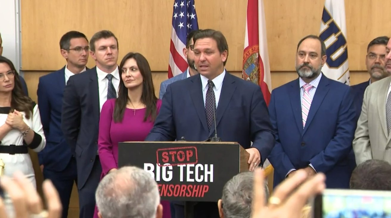 Florida hits Big Tech with a first-of-its-kind 'deplatforming' law