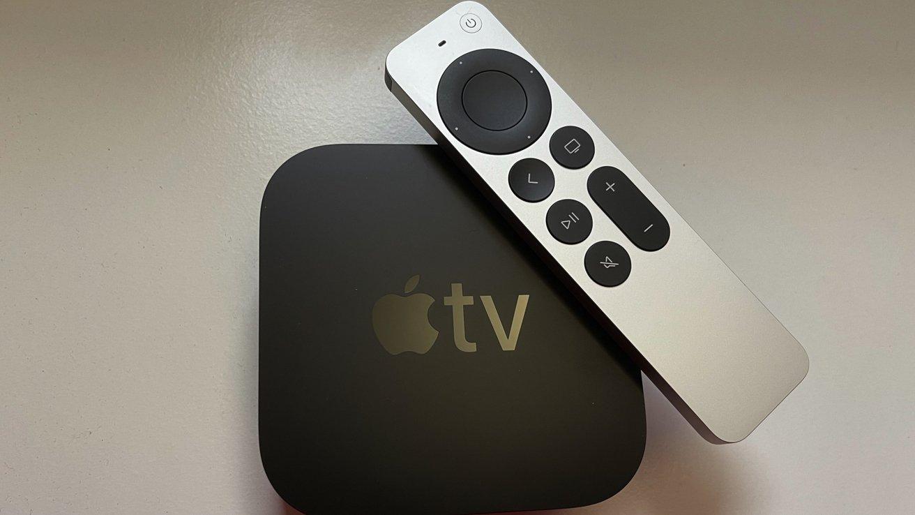 Apple's 2021 Apple TV 4K with new Siri Remote