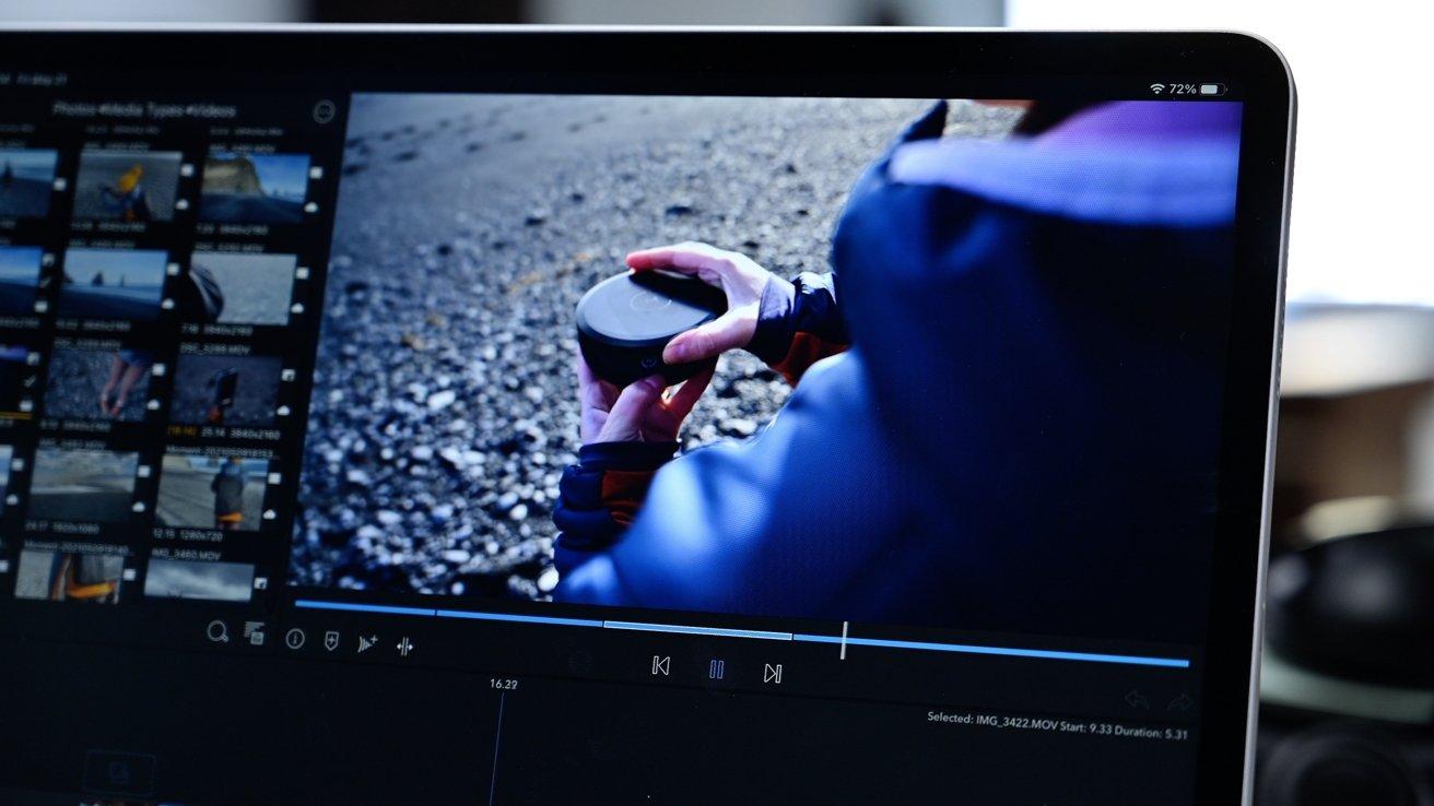 Editing HDR video on the new Liquid Retina XDR display