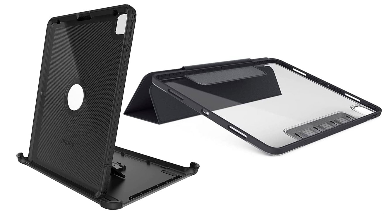 Otterbox Defender Series Pro (left), Symmetry Series 360 (right)