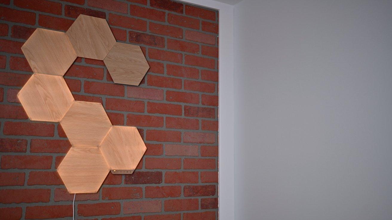 Nanoleaf Elements Wood Look Hexagons