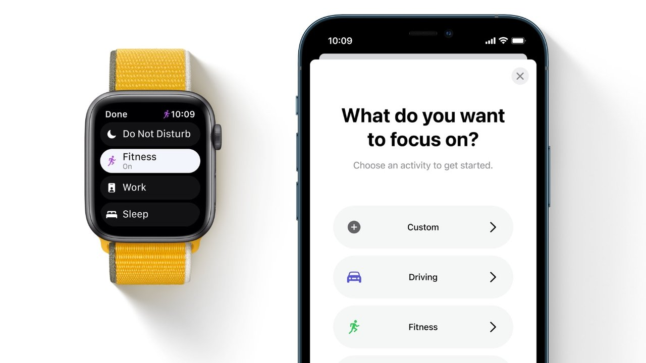 Set up Focus on your iPhone and sync your availability to Apple Watch