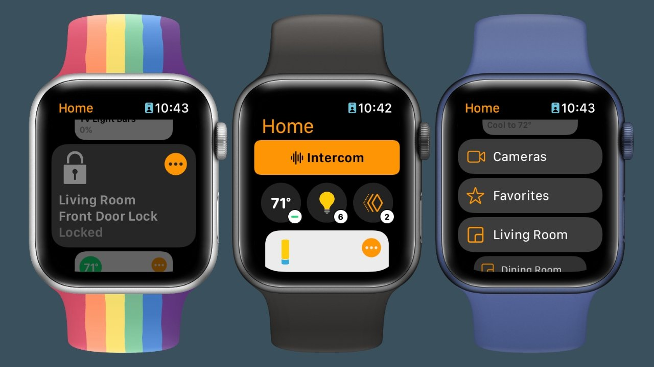 HomeKit controls are improved with new menus and intelligence