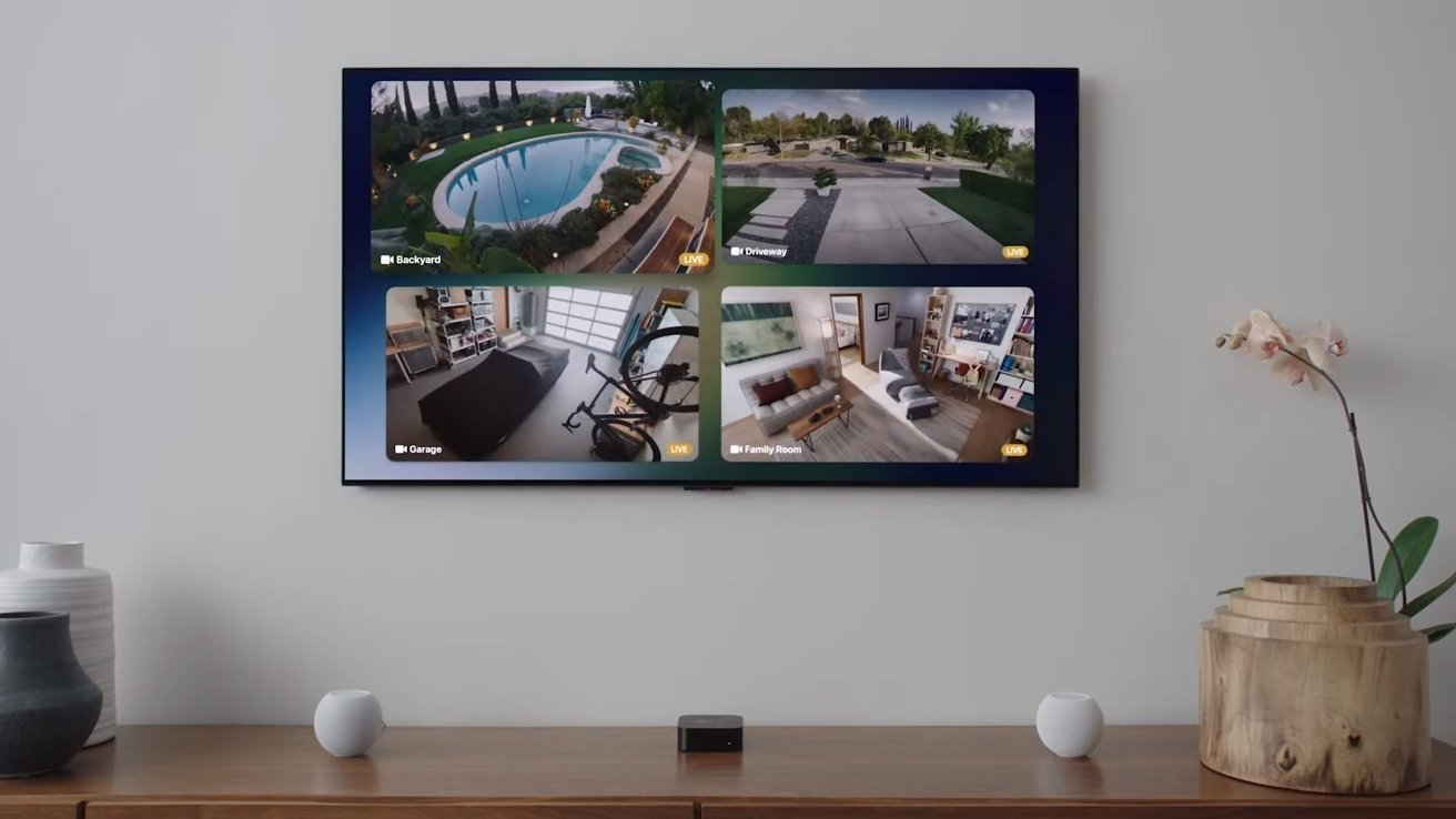 tvOS 15 allows used to connect to two HomePod minis