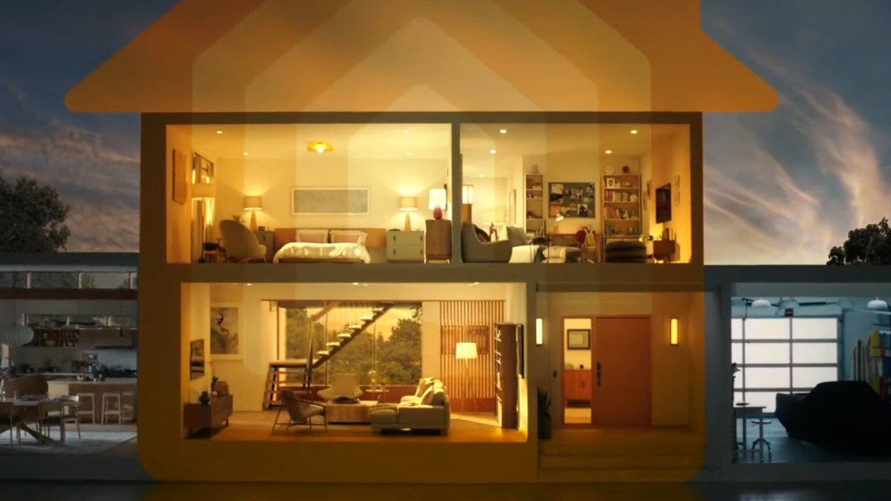 Apple's view of a smart home with the Internet of Things