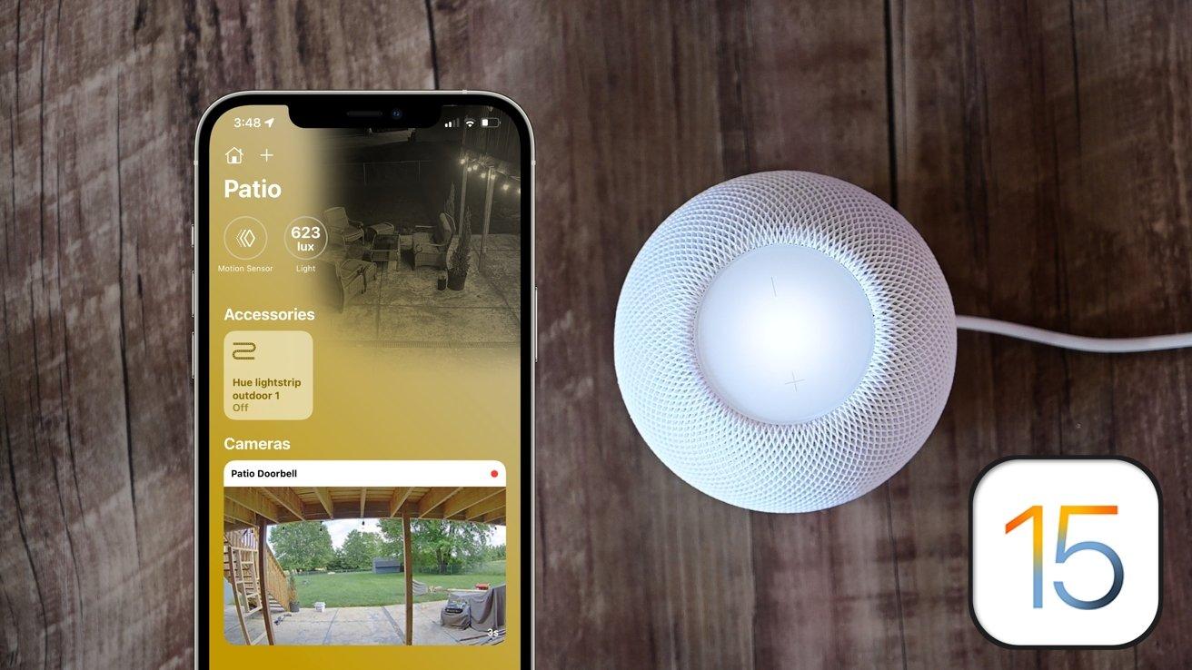 HomeKit in iOS 15