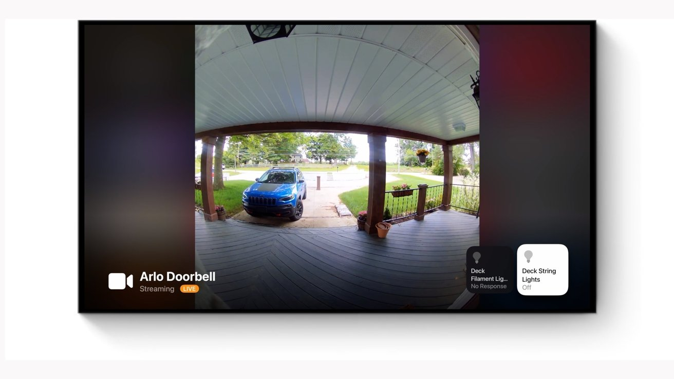 Apple TV HomeKit cameras