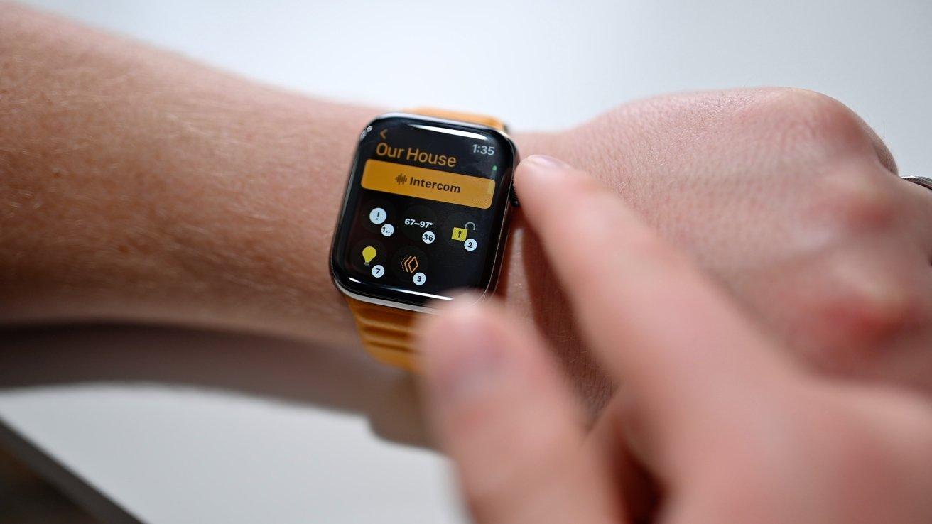New Apple Watch Home app