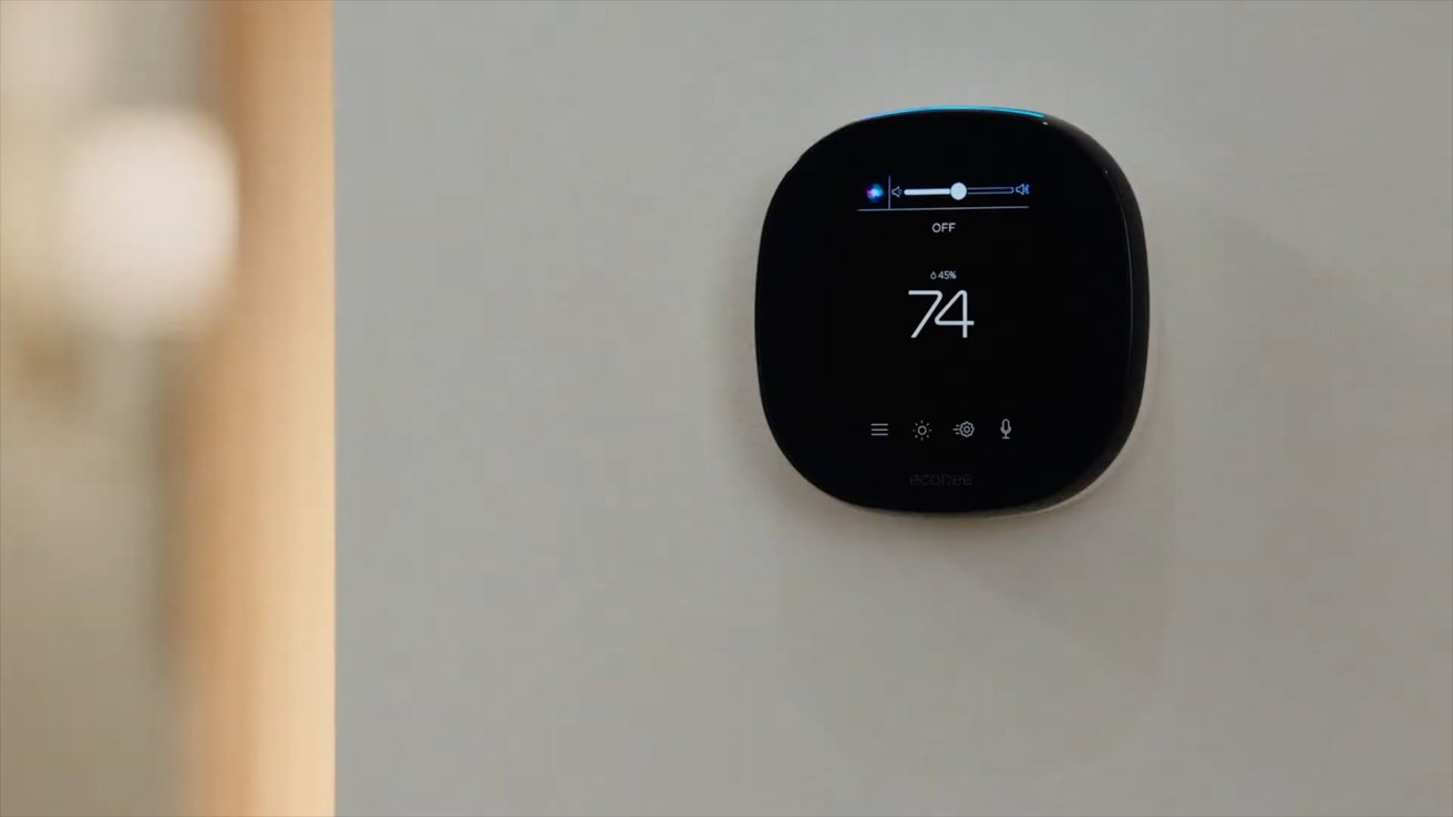 Ecobee SmartThermostat with Voice Control using Siri