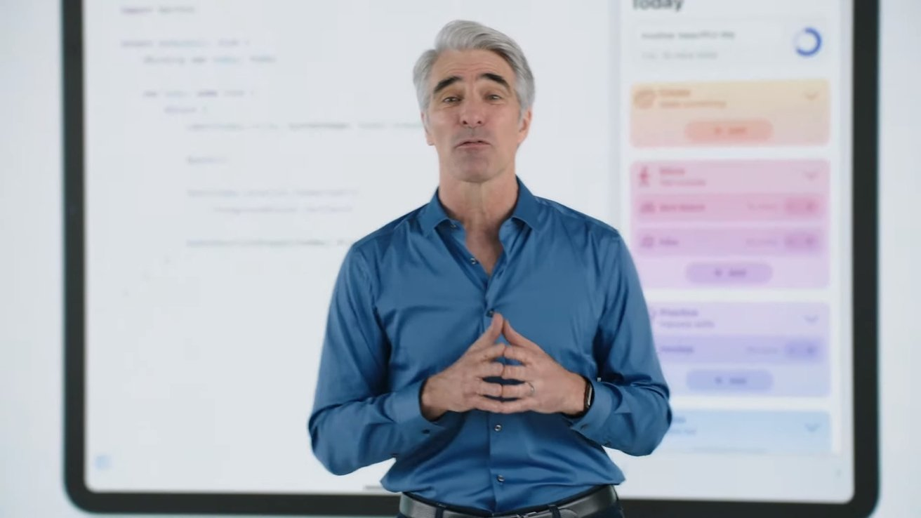 Craig Federighi speaks with various YouTubers about WWDC's announcements