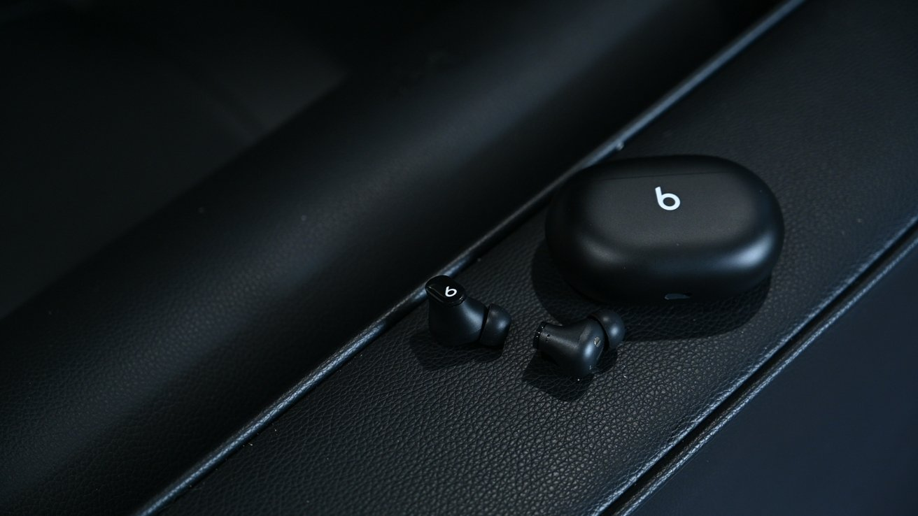 The lack of stalks or an ear hook help keep the Beats Studio Buds compact.