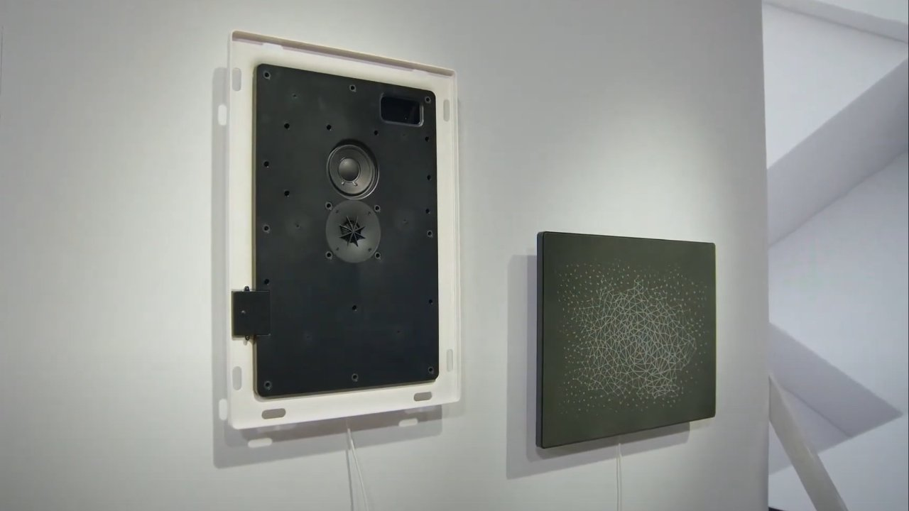 The picture frame speaker from Ikea and Sonos