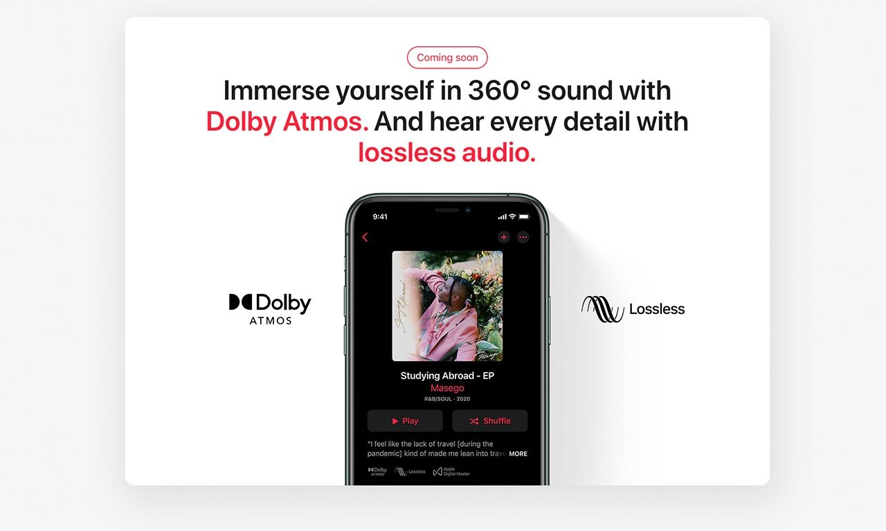 Apple Music Spatial Audio coming to India soon
