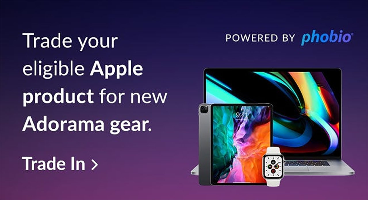 Apple trade-in with Phobio for Adorama gift card