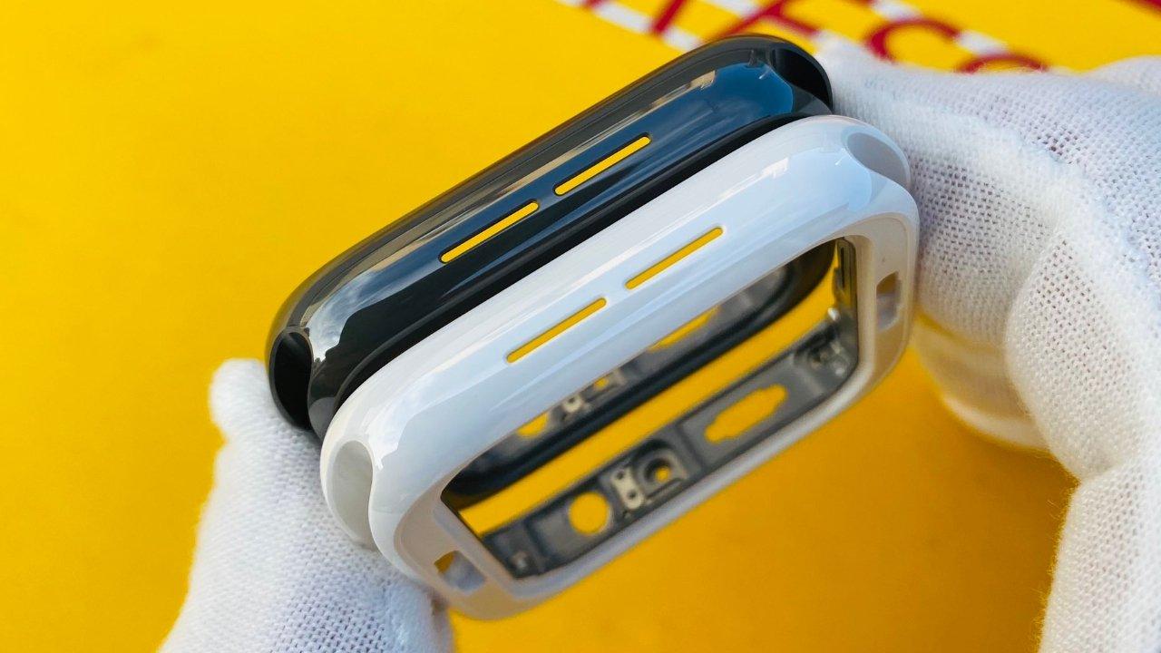 Apple Watch Series 5 alleged black ceramic case