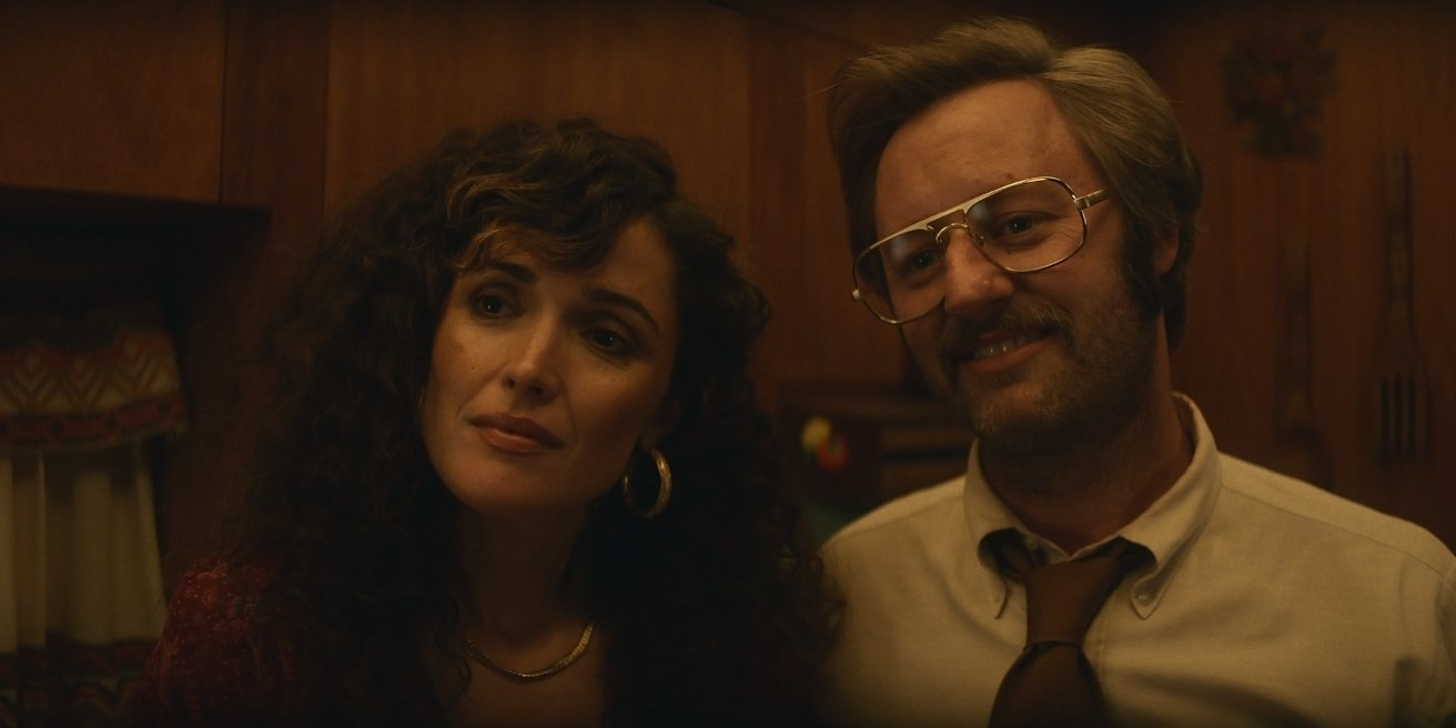 Rose Byrne and Rory Scovel in