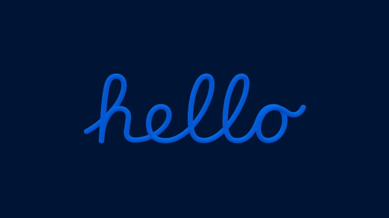 How to get the 'Hello' screensaver running on your Mac | AppleInsider