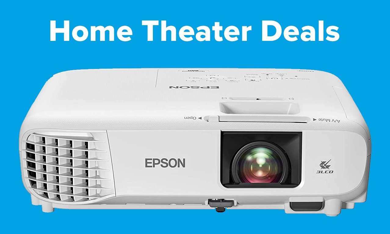 Epson Home Cinema projector with Prime Day text