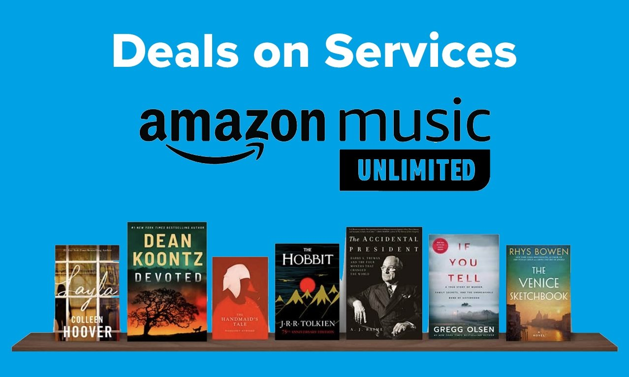 Amazon Music Unlimited with Kindle books