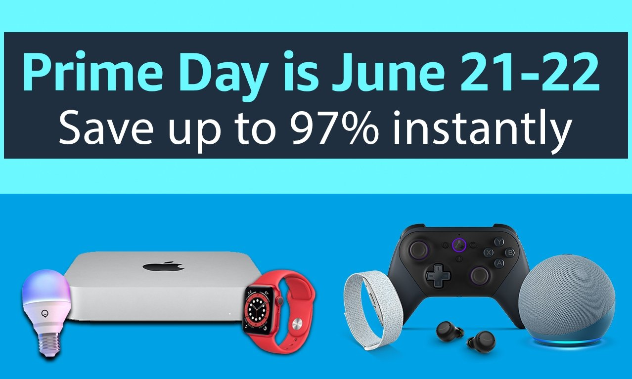 Prime Day 2021 deals for Apple fans: best discounts knock up to 97% off