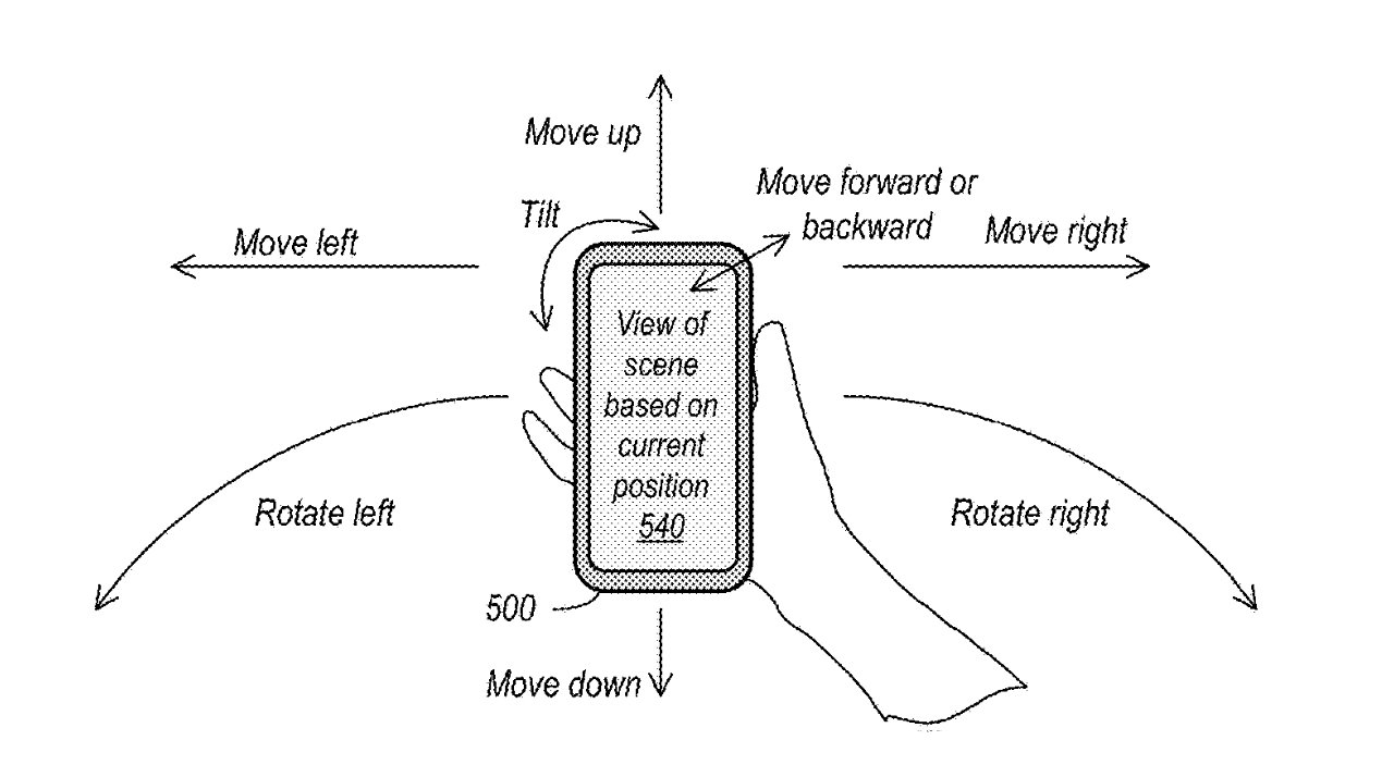 An iPhone, or other device, could capture data to make 3D AR experiences