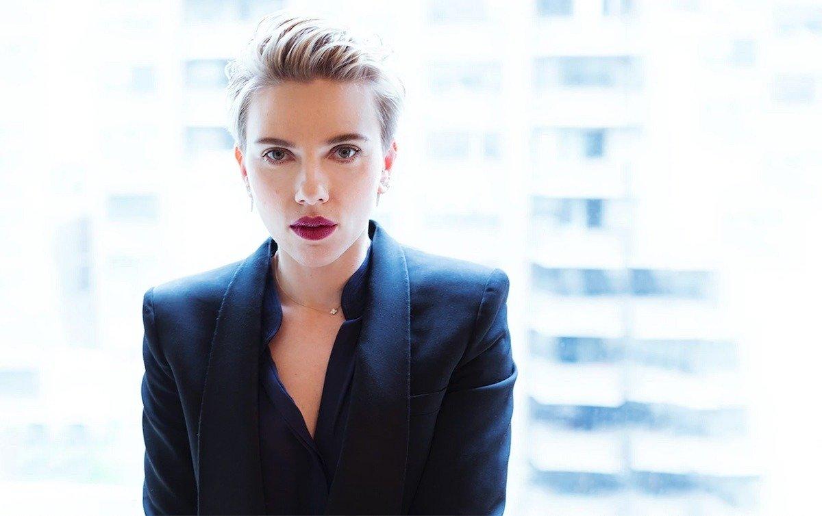 Scarlett Johansson, star of Apple and A24's Bride