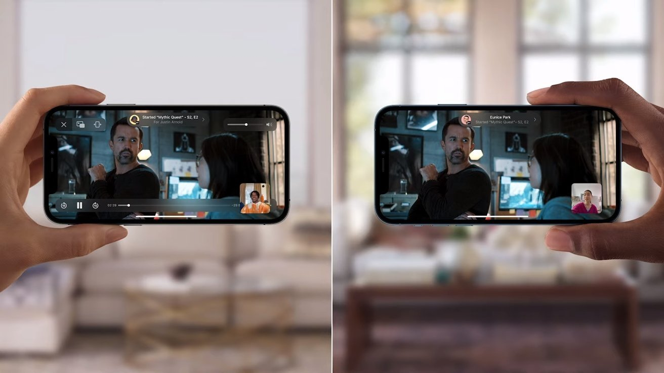 SharePlay allows for video sharing while using FaceTime