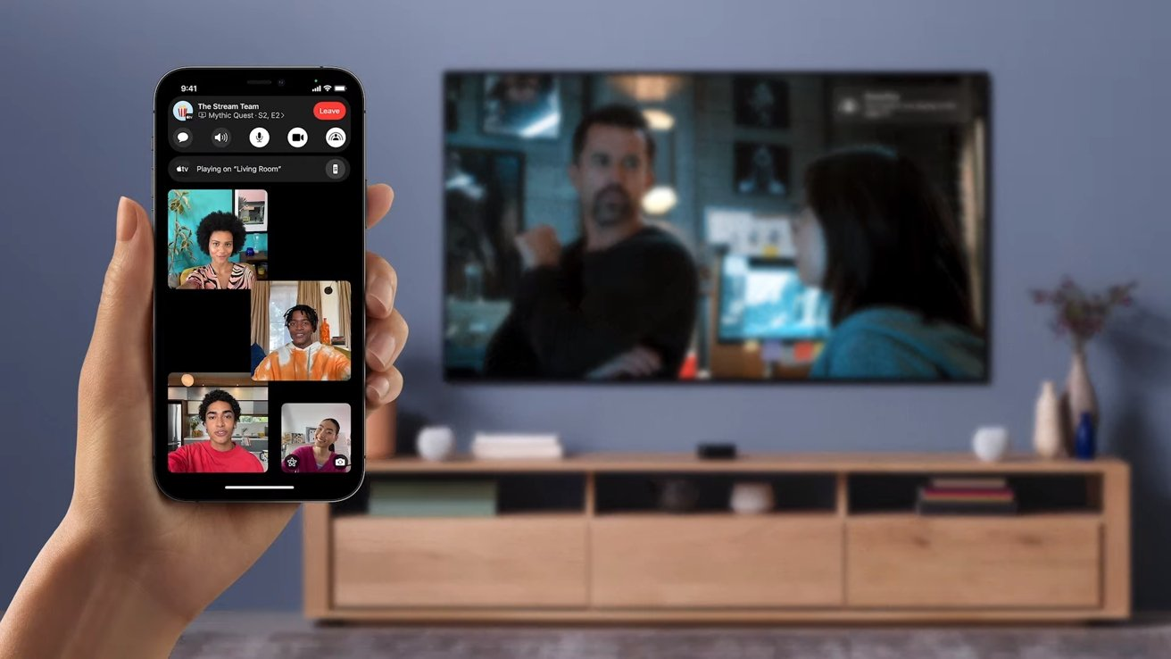 Users will be able to synchronously control the video during a FaceTime