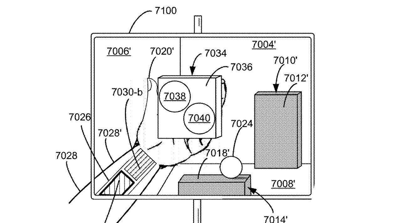 photo of 'Apple Glass' could place virtual controls in the wearer's hand image