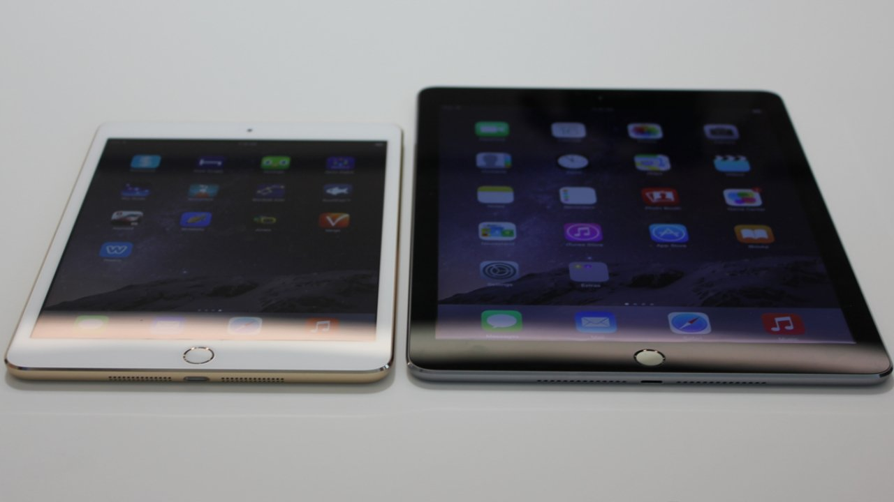 The iPad mini 3 and iPad Air 2 were included in the 90 percent education market share