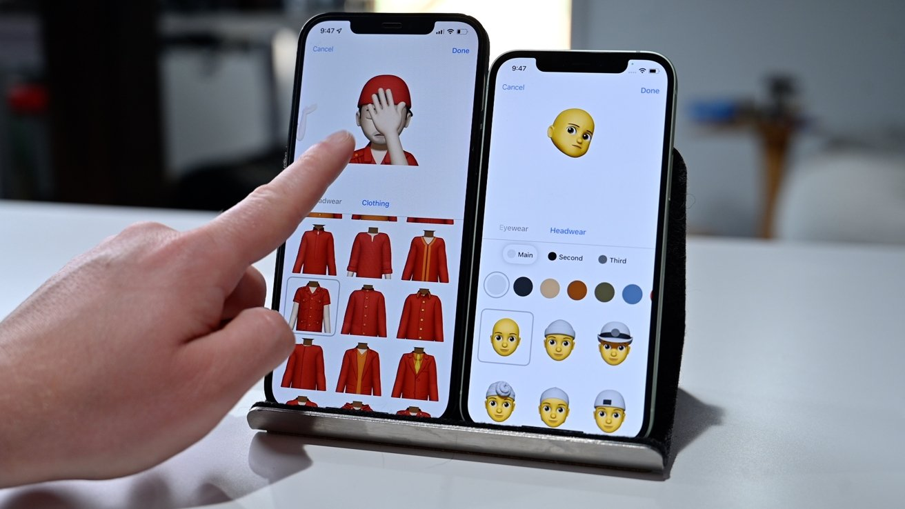 Memoji Clothes and stickers