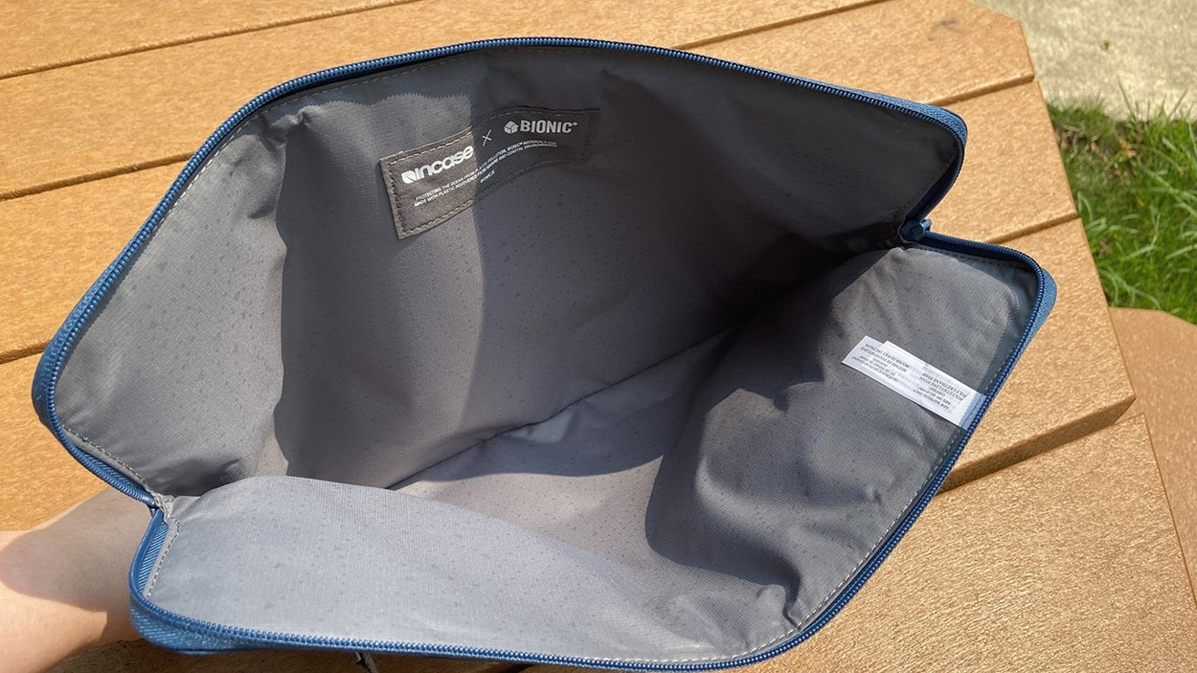 The padded laptop sleeve