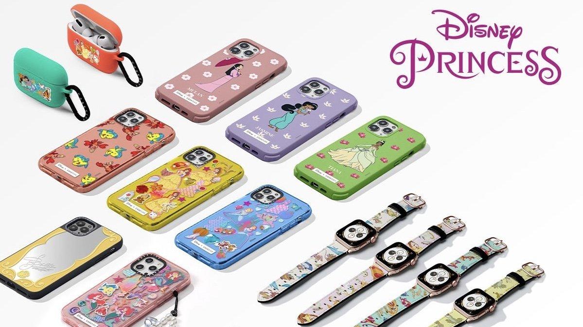 Casetify's new Disney princess line