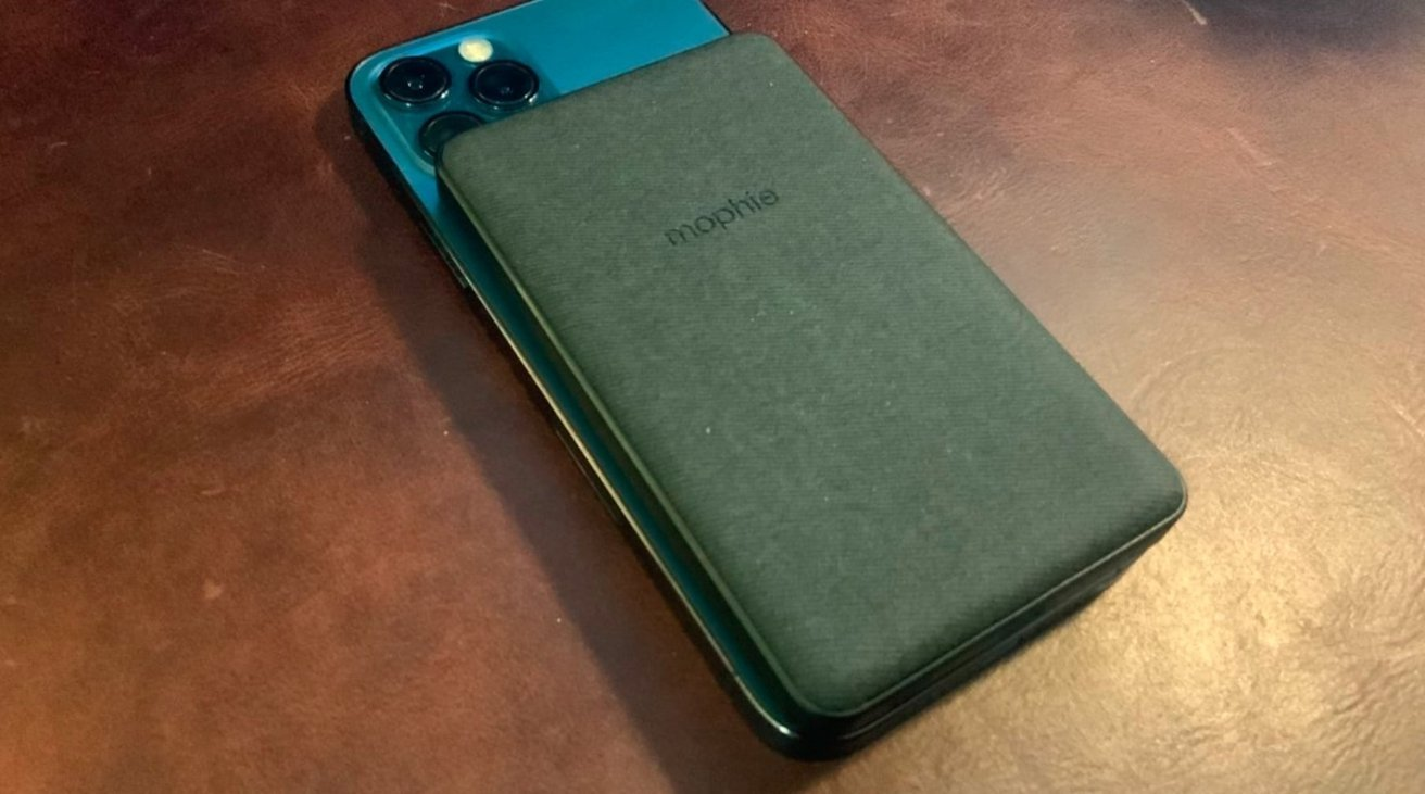 Mophie's magnetic battery