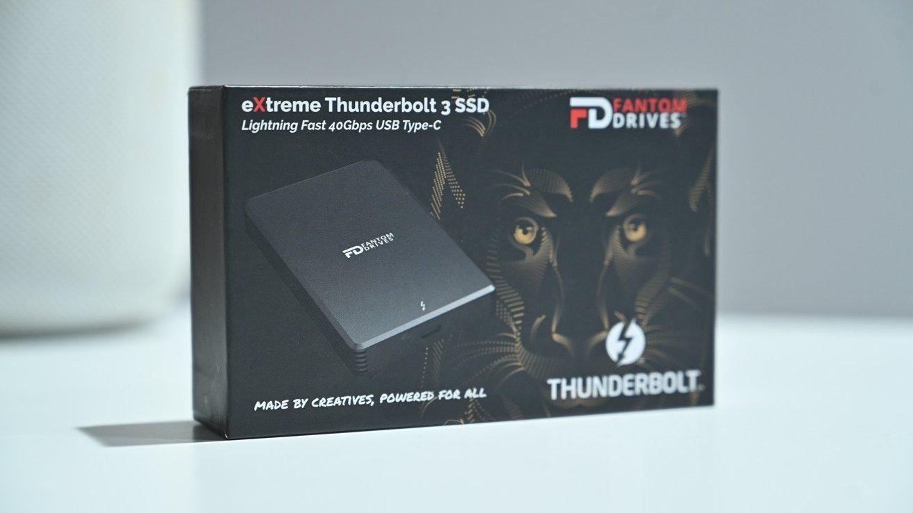 Fantom Drives eXtreme Thunderbolt 3 SSD