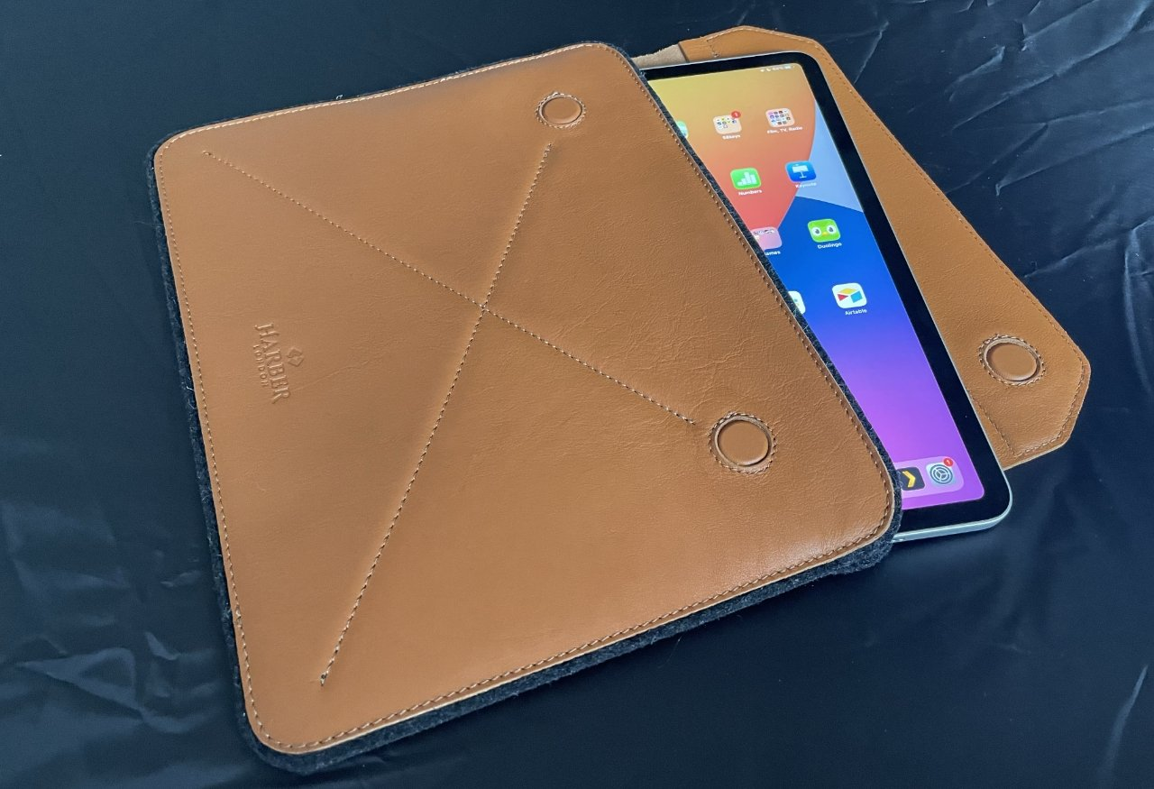 Harber Magnetic Envelope Sleeve with iPad Pro