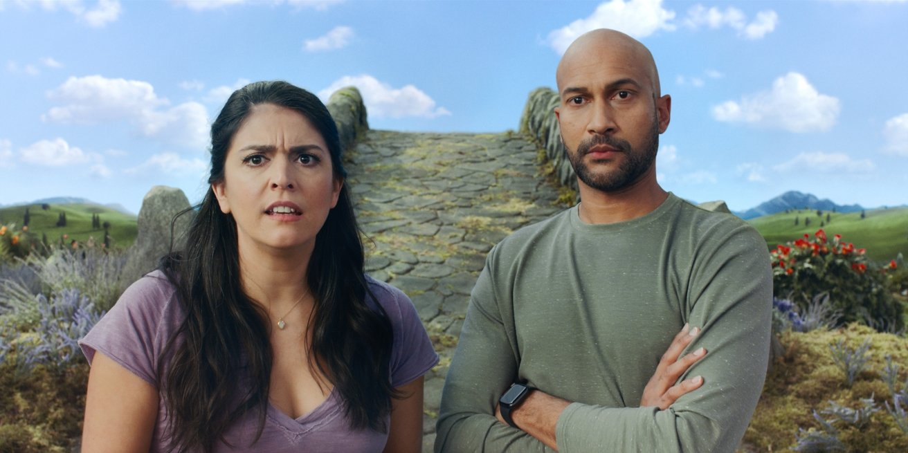Cecily Strong and Keegan-Michael Key in