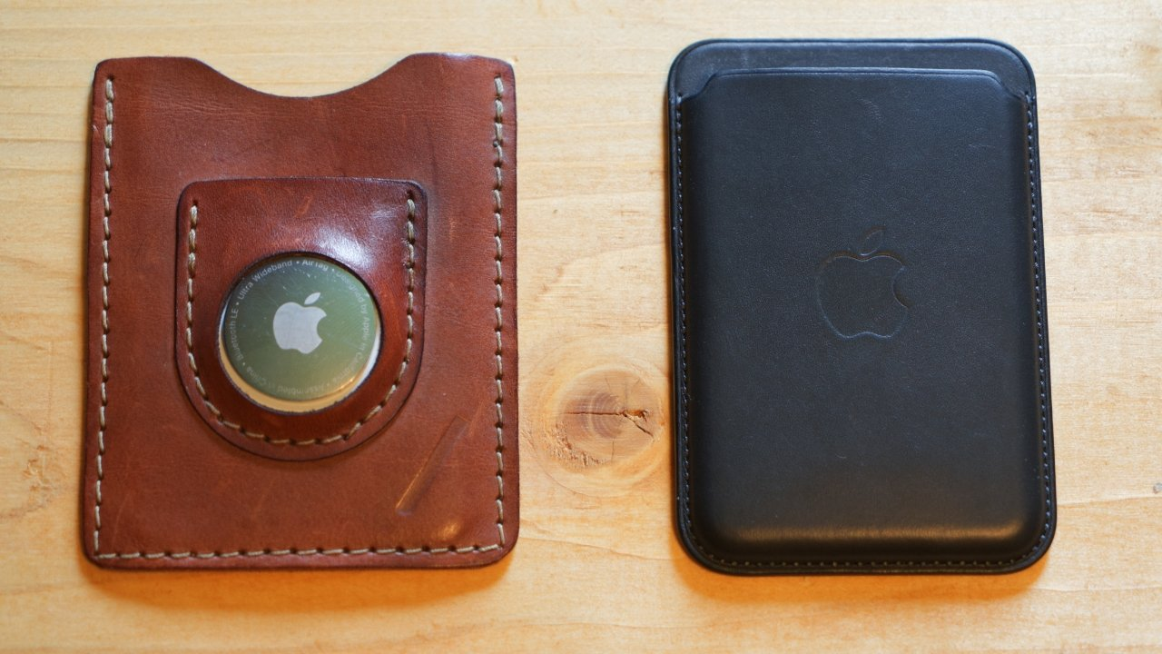 The Snapback Slim Air is wider and thicker than the Apple MagSafe Wallet thanks to the AirTag pouch