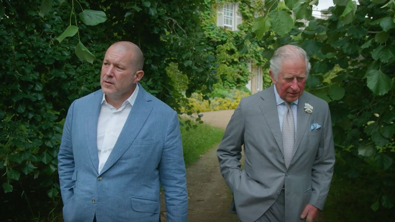 photo of Jony Ive, Prince Charles partner on sustainable design competition image