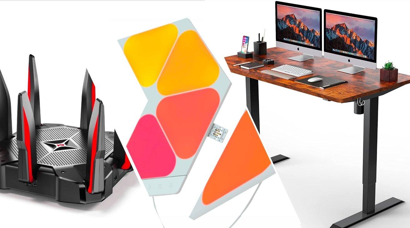 Best deals for July 24 - Nanoleaf Shapes starter kits, standing desk, TP-Link Router