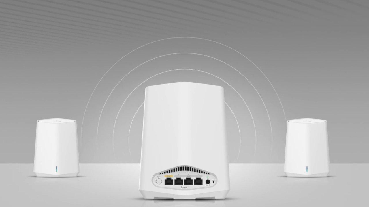 Netgear Orbi is a mesh Wi-Fi network system